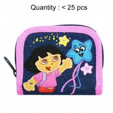 Dora the Explorer Denim Zip Wallet #15399