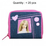 Barbie Denim Zip Wallet #15401