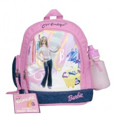 Barbie Shopping Small Backpack with Water Bottle #15748