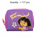 Dora the Explorer Purple Star Zip Wallet #15765