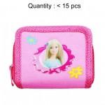 Barbie Blue Top Zip Wallet #17291