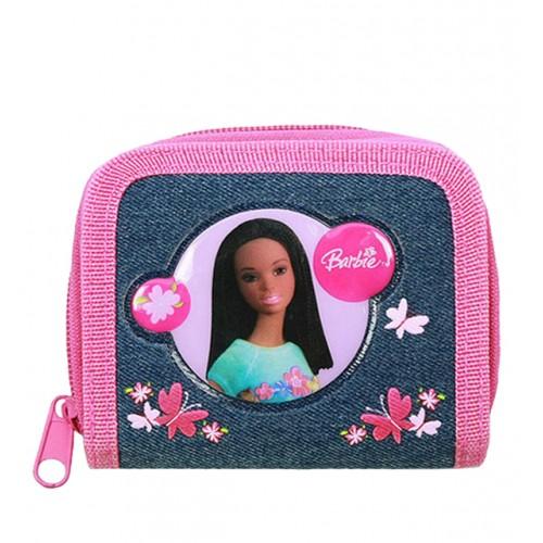Barbie AA Denim Zip Wallet #17464