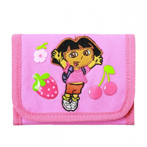 Dora the Explorer Fruits Trifold Wallet #20177