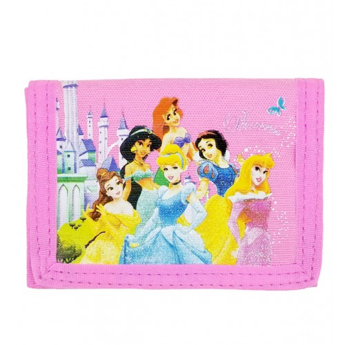 Princess Multi Castle Trifold Wallet #27611