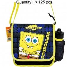 Sponge Bob SNQ DJ Lunch with Water Bottle #30915