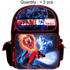 Spider-Man Marvel Heroes Large Backpack with Water Bottle #39390