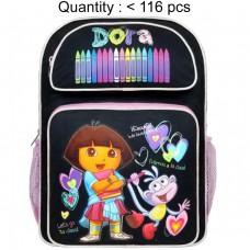 Dora the Explorer Crayon Large Backpack #40999BK