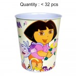 Dora the Explorer Flower Waste Bin Tin #462217F (before #462217U)
