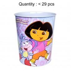 Dora the Explorer Walking Waste Bin Tin #462217W