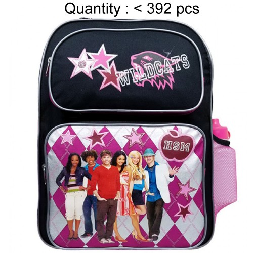 High School Musical Plaid Large Backpack with Water Bottle #56672