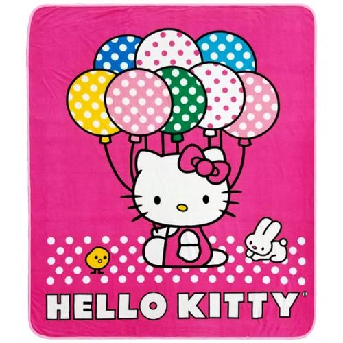 Hello Kitty Ballon Fleece Blanket #66836