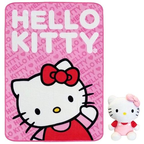 Hello Kitty Plush & Blanket Combo #68390
