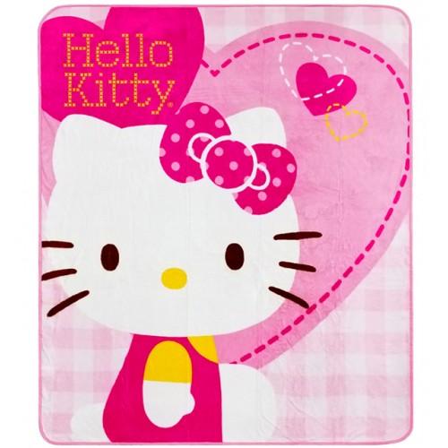 Hello Kitty Heart Rachel Blanket #70330