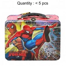 Spider-Man Spider-Sense Square Lunch Tin #707617K
