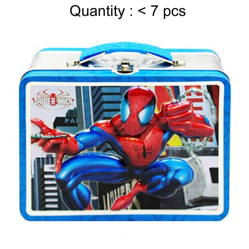 Spider-Man Sky Scraper Tin Lunch #707687B