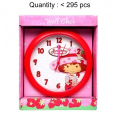 Strawberry Shortcake Round Wall Clock #72ST0219