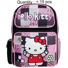 Hello Kitty Patch Black Large Backpack #82511
