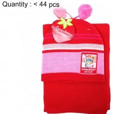 Strawberry Shortcake 2pcs Beanie & Scarf Set #AGKH3073-2R