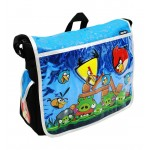 Angry Birds Attack Large Messenger Bag (Blue) #AN10862B