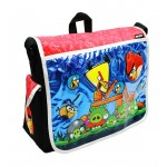 Angry Birds Attack Large Messenger Bag (Red) #AN10862R