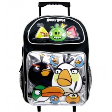 Angry Birds Gettin Rough Large Rolling Backpack #AN10895
