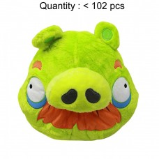 Angry Birds (Green Pig) Plush Backpack #AN10965B