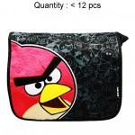 Angry Birds Black Large Messenger Bag #AN7484