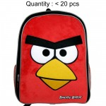 Angry Birds Large Plush Backpack #AN8289