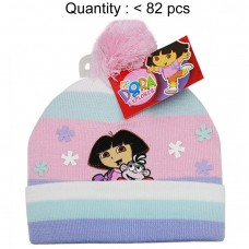 Dora the Explorer & Boots Multi Stripe Beanie #DGKH2971P