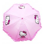 Hello Kitty Ruffle Umbrella Pink #HEK556R