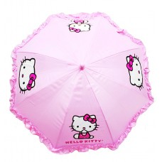 Hello Kitty Ruffle Umbrella Pink #HEK556R