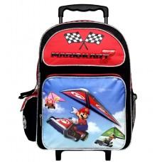Super Mario Bros. (Mario Kart) Large Rolling Backpack #NN10839