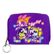 Power Puff Girls Flower Zip Wallet #PPCW02U
