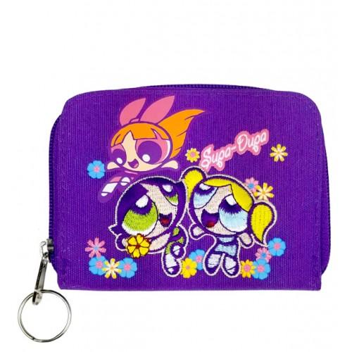 Power Puff Girls Flower Zip Wallet #PPCW02U