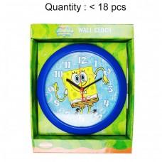 Sponge Bob Round Wall Clock #SBC207T