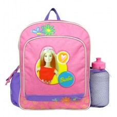 Barbie Red Top Small Backpack with Water Bottle #14588