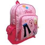 Barbie Cute Tee Large Backpack with Water Bottle #18451