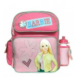 Barbie Yellow Jacket Small Backpack with Water Bottle #18456