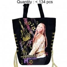 Hannah Montana Yellow Ribbon Tote Bag #56703