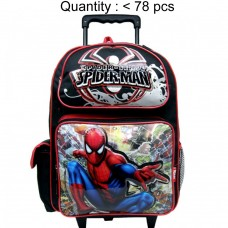Spider-Man Rogues Large Rolling Backpack #80062