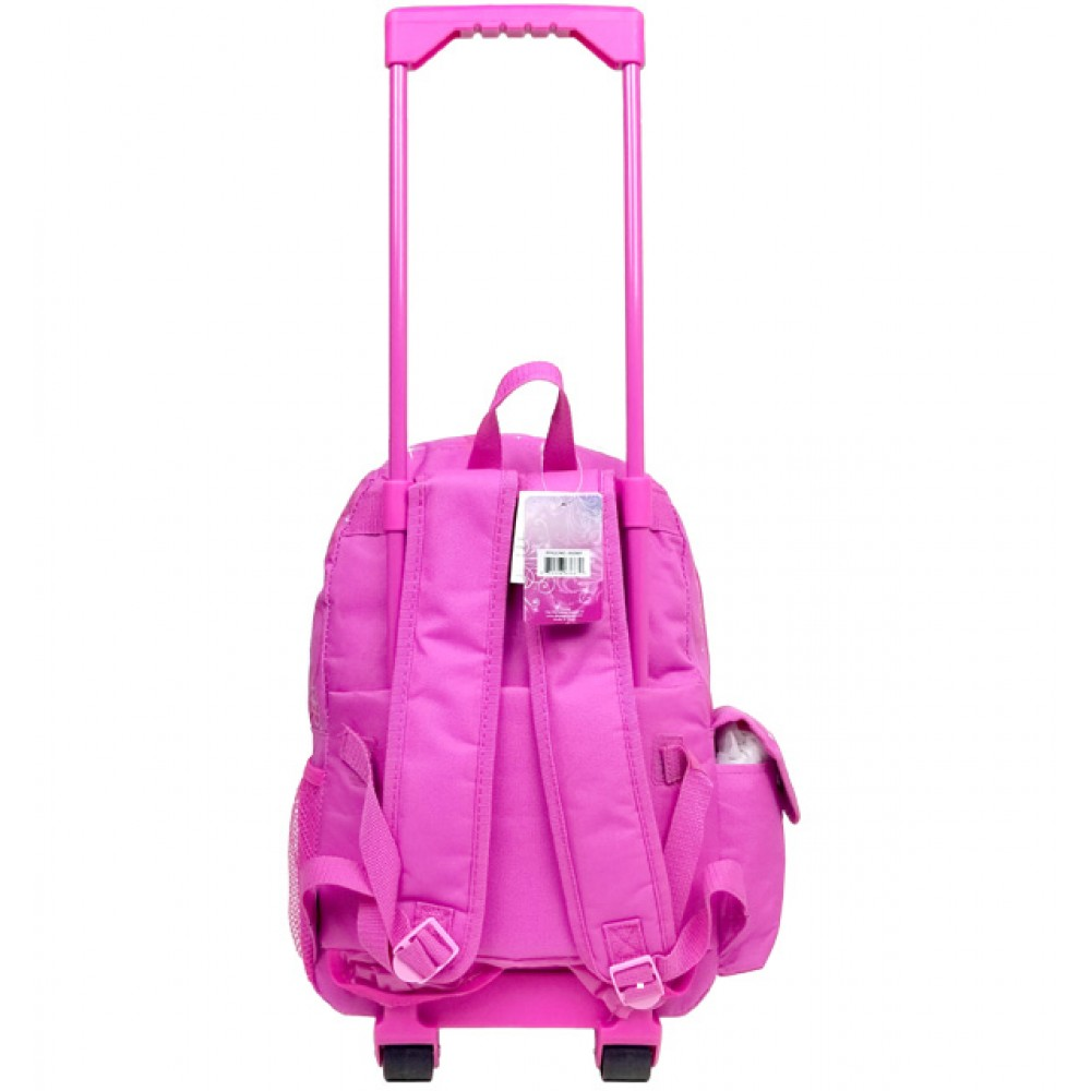Princess Magic Castle Large Rolling Backpack #A03887