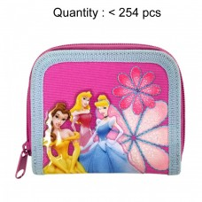 Princess Flower Zip Wallet #18450
