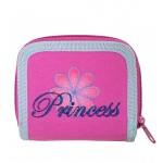 Princess Flower Zip Wallet #18450