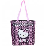 Hello Kitty Dice Black Tote Bag #82352