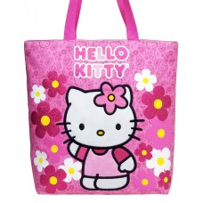 94ff5d3f7ded Hello Kitty Flower Pink Tote Bag  82589
