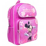 Minnie Mouse Silver Large Backpack #MN21490