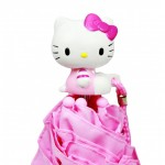Hello Kitty Ruffle Umbrella Pink #HEK556