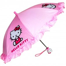 Hello Kitty Ruffle Umbrella Pink #HEK556