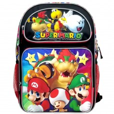 Super Mario Bros Super Bowser Large Backpack #NN43718