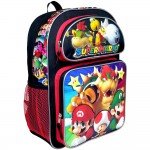 Super Mario Bros Super Bowser Large Backpack #NN43718